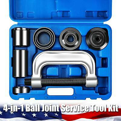4-in-1 Ball Joint Service Auto Tool Set with 4-wheel Drive Adapters
