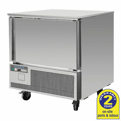 Polar Blast Chiller Shock Freezer 140L For 3x 1/1 GN Pans NO PANS INCLUDED NEW