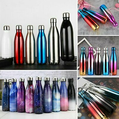 AU Water Flask Thermos Stainless Steel Vacuum Insulated Double Wall Drink Bottle