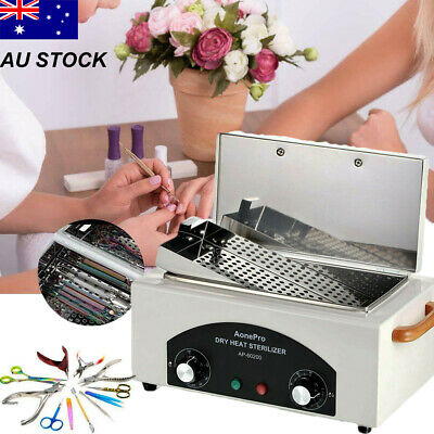 High Temperature Dry Heat Sterilizer Autoclave Dental Nail Tool For Beauty Salon