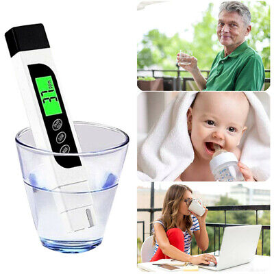 New Digital Electric TDS/EC Meter Tester Hydroponics Water Test Pen High Quality