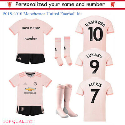 2020 Custom Football Outfit Strips Youth Soccer Suits Training Jerseys Kits Kids