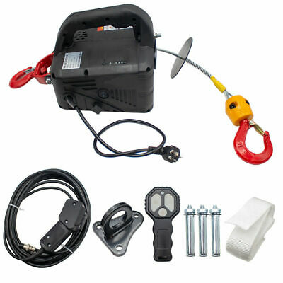 Portable Electric Hoist Electric Winch Electric Lifting Traction Hoist Windlass