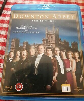 Downton abbey Complete Series 3 Blue Ray Dvd Watched Once Like New free post