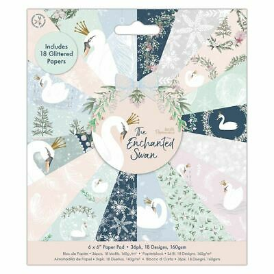 "The Enchanted Swan Papermania Christmas Collection - 6 x 6"" Paper Pad"