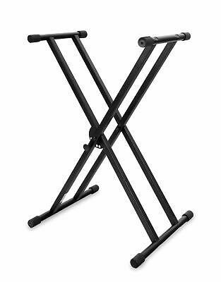Support Pour Clavier Piano Synthétiseur Professionnel Pied Double Barres X