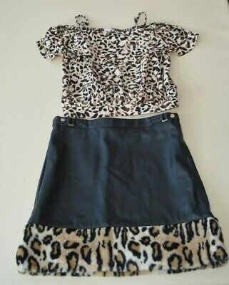 River Island, Matching Set, Top and Skirt, Age 12 Years