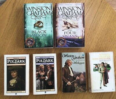Winston Graham Poldark - 6 Books Collection some vintage.