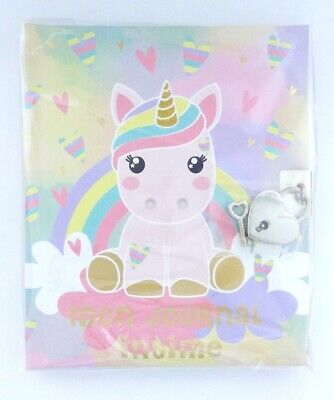 """Journal intime Licorne Candy Cloud Gigglepot """"Mon journal intime"""""""