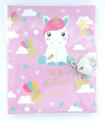 """Journal intime Licorne Candy Cloud Stardust """"Mon journal intime"""""""
