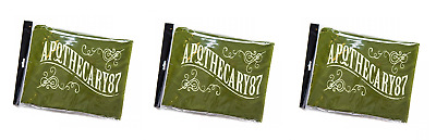 Apothecary 87 Green Barber Cape x3