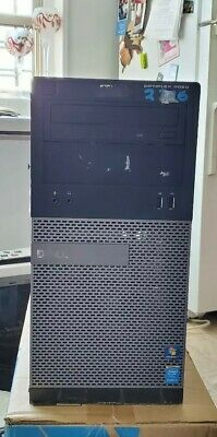 Dell Optiplex 3020 MT Mini Tower PC shell case with power supply