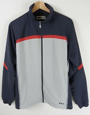 Fila Boys Grey & Blue Jacket Age 16 years Original  : A514