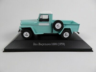 Ika Baqueano 1000 (1959) - 1/43 Voiture Miniature SALVAT Diecast Model Car AR25