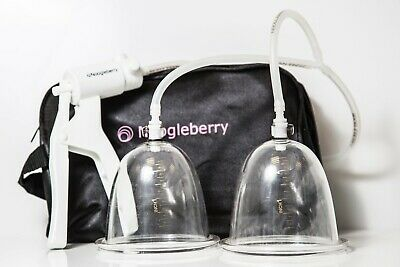 NOOGLEBERRY  Breast Enlargement Airlock Pump System - Natural Breast Enhancement