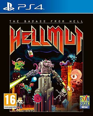 Hellmut: The Badass from Hell | PlayStation 4 PS4 New - Preorder