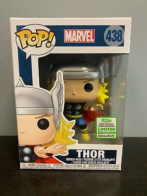 Funko Pop! Marvel Classic THOR 2019 ECCC Spring Convention Exc W/Protector