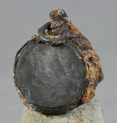 Shipwreck Pocket Watch Abbatucci c1869 Rare Interesting Antique Silver