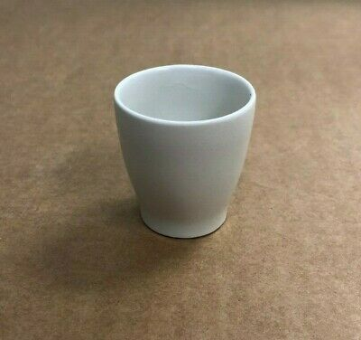 Coors Porcelain Crucible w/ Filtering Disc Chemistry Lab Glassware