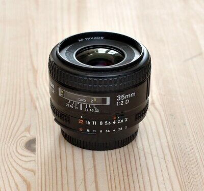 Nikon 35mm f2,0 AF-D in good condition for FX (and DX)