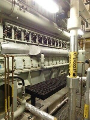(2) 2005 Fairbanks 3MW Dual Fuel Generators