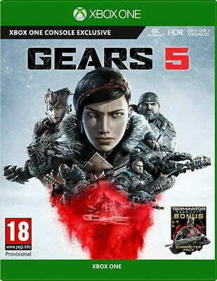 Gears 5   Xbox One Gears of War 5 New Sealed Fast Dispatch Free P&P