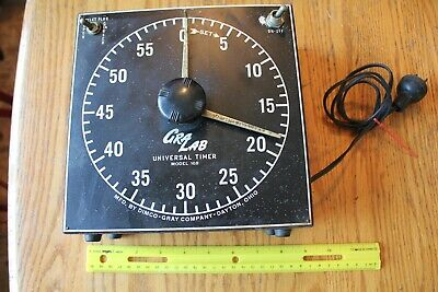 GraLab Universal Timer for Photography Model 168 by Dimco Gray Co. Vintage