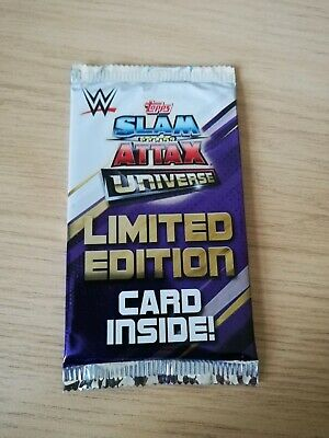 WWE Slam Attax Universe Limited Edition Pack Guaranteed Gold, Silver Or Bronze