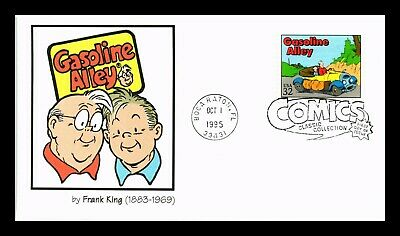Dr Jim Stamps Us Gasoline Alley Classic Comics Frank King First Day Cover