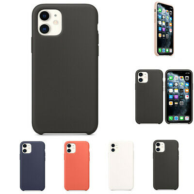 Liquid Silicone Full Body Case Shockproof Screen Protect Cover For iPhone 11/Pro