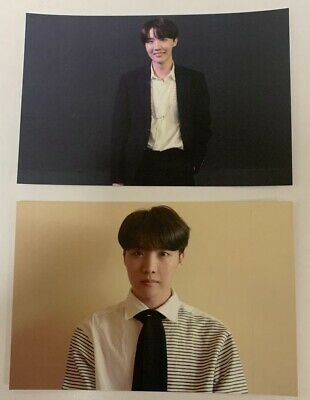 BTS J-HOPE Photocard Broadcast Soul PERSONA Boy with Luv Official KPOP A B Set
