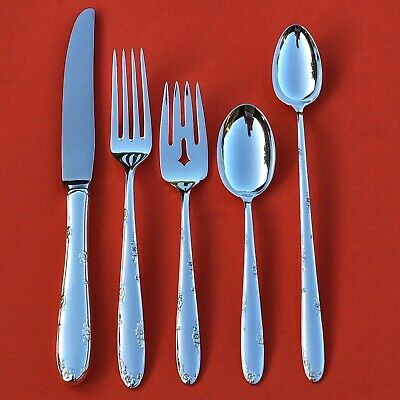TOWLE MADEIRA Sterling Silver 5-Pc Dinner Set 209G Penny-Start Free Shipping