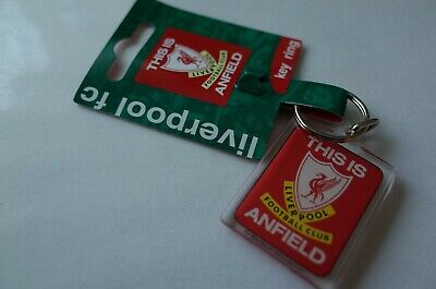 Official Licensed Football Liverpool THIS IS ANFIELD Design Key Ring