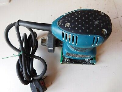 Genuine Original Makita BO4555 240Volt Finishing Palm Sander free pp UK