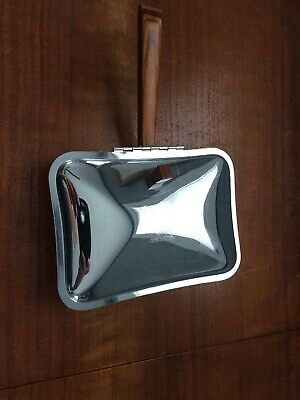 Vintage Irvin Ware Chrome Table Crumb Tray Silent Butler Crumb Catcher Sweeper