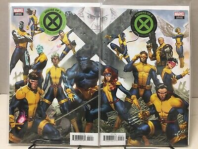 House of X #4 & Powers of X #4 - Connecting Variant Set - Marvel Comics, 2019