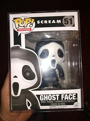 Scream Ghostface Funko Pop 51 Vaulted Never Openedmake offer in protector real!