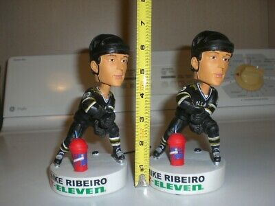 2x Vintage NHL Hockey Dallas Stars 7Eleven Mike Ribeiro Bobblehead Sports Figure