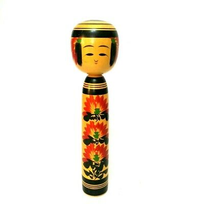 Kokeshi Japanese traditional crafts retro cute vintage rare popular F / S! wood