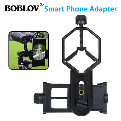 Cellphone Adapter Mount 25-48mm Portable For Binocular Monocular Spotting Scope
