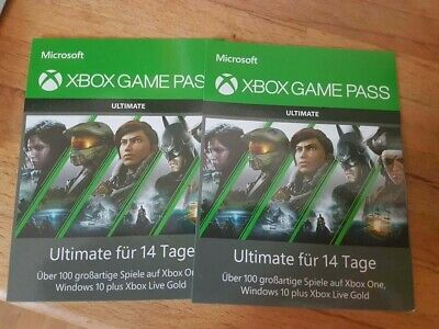 Xbox Game Pass Ultimate > 1 Month + Xbox Gold+PC 2x14 Days [24HRS Shipping]