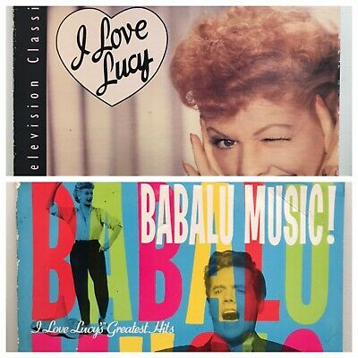 Lot of two Lucile Ball laserdiscs Criterion Television I Love Lucy+Babalu Music