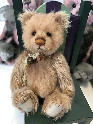 Diddy minimo Charlie Bears 🐻 7 inch fully jointed mohair! LE 2000