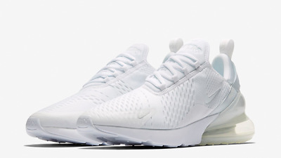 NIKE AIR MAX 270 $150 Men's Running shoes Authentic NEW AH8050 101 WHITE Sz 8-13