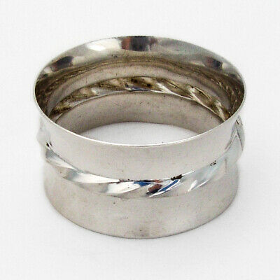 Towle Silver Flutes Napkin Ring Sterling Silver 1941