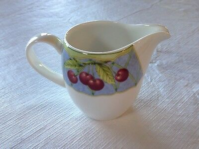 Exquisite Mikasa Optima Fruit Rapture Creamer - MINT!