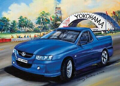 Blue Opal Deluxe Jenny Sanders Commodore at Oran Park 1000 piece Jigsaw Puzzle