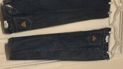 Bulwark Flame-Resistant Safety work Jeans ( 34 X 30) ( Lot of 2 ) Blue Pre-Owned