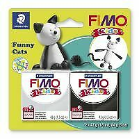 Kids Clay model set by FIMO cats