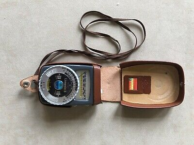 Genuine Gossen light meter Lunasix 3